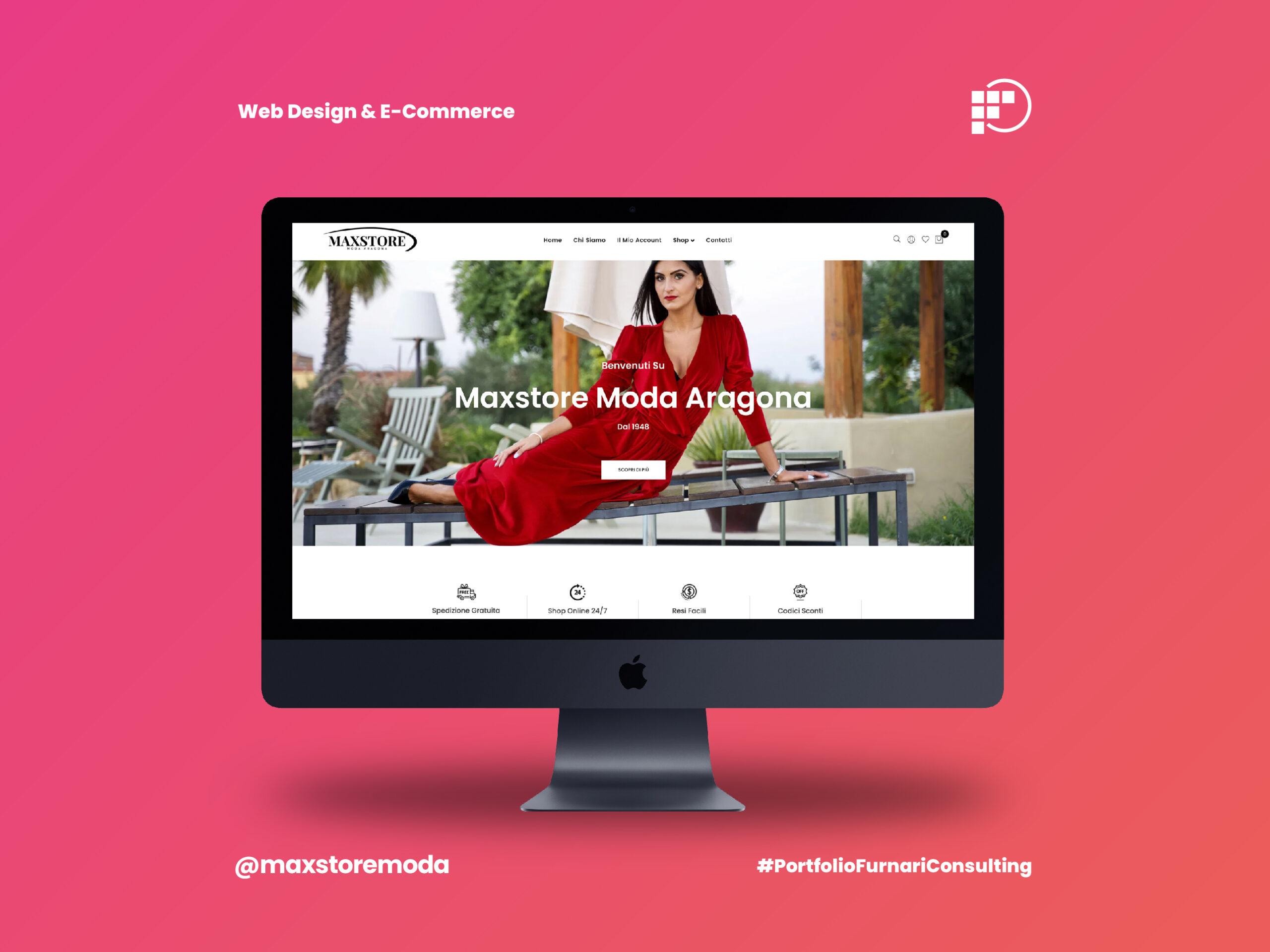 Il Lancio dell'E-commerce di Maxstore Moda Aragona